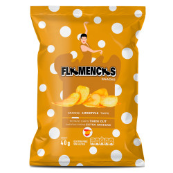 Flamenca Thick Cut, tjocka...
